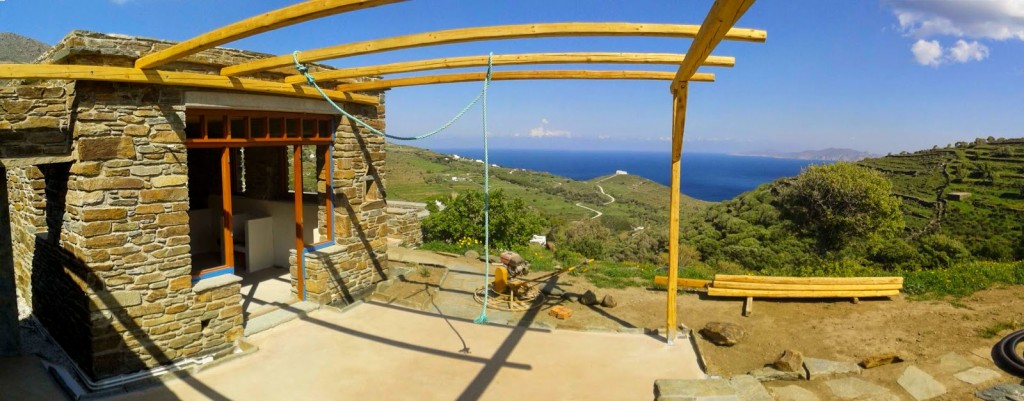 tinos ecolodge constructionspring_9