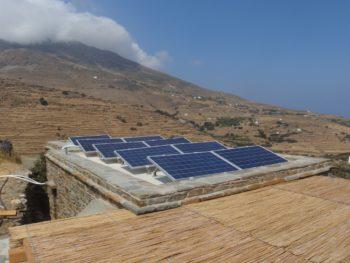 Tinos Ecolodge solars