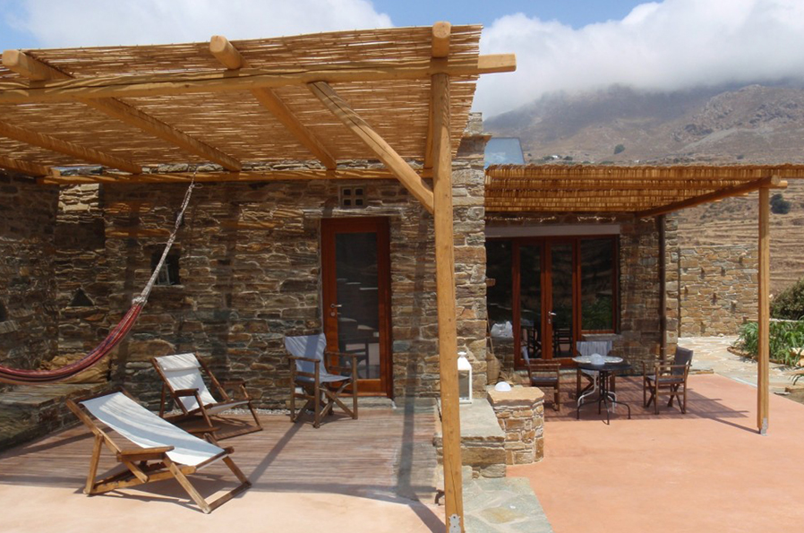 Tinos Ecolodge big-house