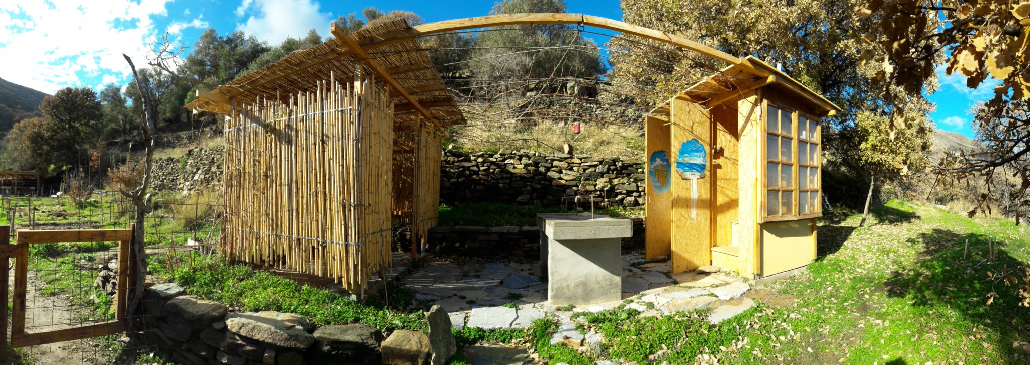 Barrel Compost Toilets – Tinos Eco Lodge