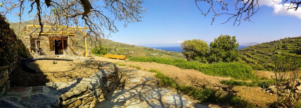 tinos ecolodge constructionspring_5